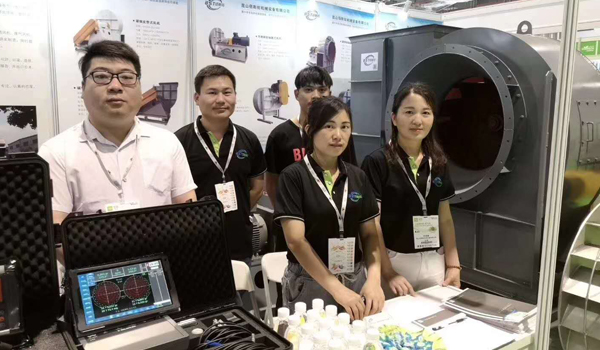 佰斯拓风机厂第五届上海国际固、废气展火热进行中