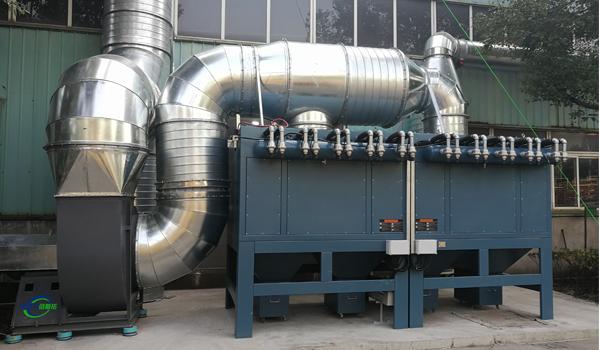 四种不同输送气体的工业离心风机