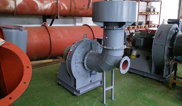 佰斯拓工业离心风机在排废气处理中的应用
